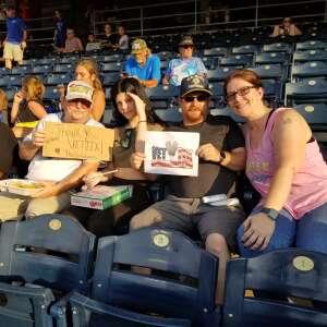 Galloway Family  attended Kansas City Royals vs Chicago White Sox - MLB on Jul 28th 2021 via VetTix