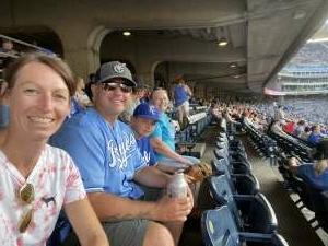 Jen F attended Kansas City Royals vs Chicago White Sox - MLB on Jul 28th 2021 via VetTix