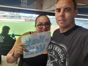 Tiffanys attended Kansas City Royals vs Chicago White Sox - MLB on Jul 28th 2021 via VetTix