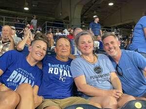 Carol attended Kansas City Royals vs Chicago White Sox - MLB on Jul 28th 2021 via VetTix