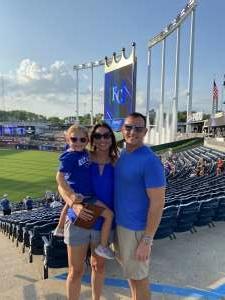 Dan attended Kansas City Royals vs Chicago White Sox - MLB on Jul 28th 2021 via VetTix