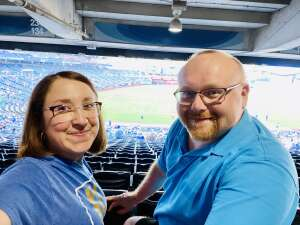 Jessica attended Kansas City Royals vs Chicago White Sox - MLB on Jul 28th 2021 via VetTix