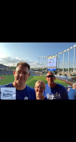 Mark Brinck attended Kansas City Royals vs Chicago White Sox - MLB on Jul 28th 2021 via VetTix