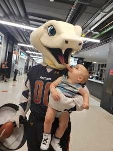 Baby j attended Arizona Rattlers vs. Naz Wranglers on Jul 10th 2021 via VetTix
