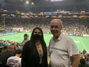 Janice attended Arizona Rattlers vs. Naz Wranglers on Jul 10th 2021 via VetTix