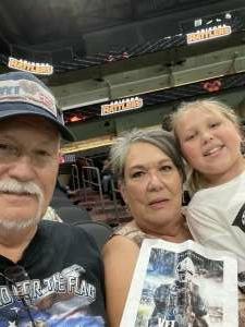 Roger Cleveland attended Arizona Rattlers vs. Naz Wranglers on Jul 10th 2021 via VetTix