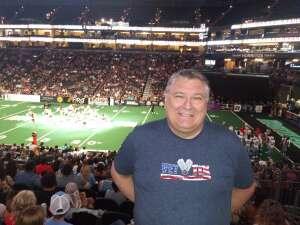 Eddie attended Arizona Rattlers vs. Naz Wranglers on Jul 10th 2021 via VetTix