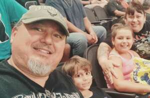 Ed attended Arizona Rattlers vs. Naz Wranglers on Jul 10th 2021 via VetTix
