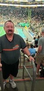 Rick attended Arizona Rattlers vs. Naz Wranglers on Jul 10th 2021 via VetTix