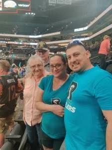 Eric attended Arizona Rattlers vs. Naz Wranglers on Jul 10th 2021 via VetTix