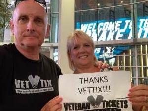 Bob attended Arizona Rattlers vs. Naz Wranglers on Jul 10th 2021 via VetTix