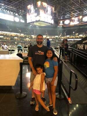 David attended Arizona Rattlers vs. Naz Wranglers on Jul 10th 2021 via VetTix
