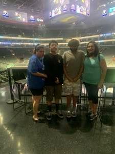 Richard attended Arizona Rattlers vs. Naz Wranglers on Jul 10th 2021 via VetTix
