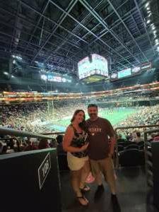 Frankie  attended Arizona Rattlers vs. Naz Wranglers on Jul 10th 2021 via VetTix