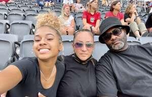 Maria attended Washington Spirit vs. NC Courage - NWSL on Jul 10th 2021 via VetTix