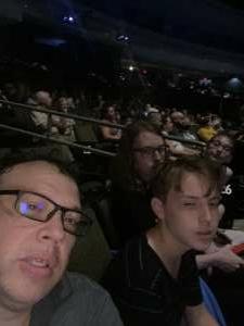 Robert  attended Lindsey Stirling - Artemis Tour North America 2021 on Sep 1st 2021 via VetTix