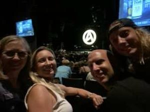 Elmon Krupnik attended Lindsey Stirling - Artemis Tour North America 2021 on Sep 1st 2021 via VetTix