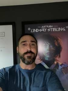 Nathan attended Lindsey Stirling - Artemis Tour North America 2021 on Sep 1st 2021 via VetTix