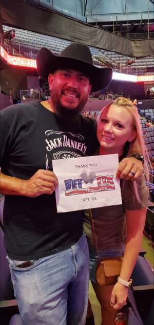 Jerry attended Justin Moore on Aug 14th 2021 via VetTix