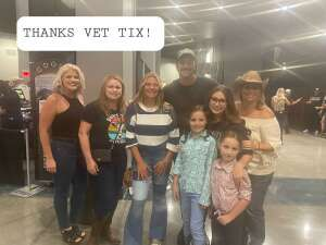 Justin  attended Justin Moore on Aug 14th 2021 via VetTix