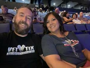 Kyle attended Justin Moore on Aug 14th 2021 via VetTix