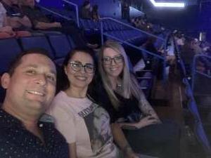 Julie D. attended Justin Moore on Aug 14th 2021 via VetTix