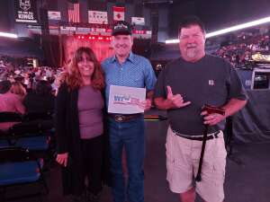 Danny Atkinson attended Justin Moore on Aug 14th 2021 via VetTix