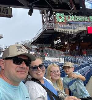 MRN attended Philadelphia Phillies vs. Miami Marlins - MLB on Jul 17th 2021 via VetTix
