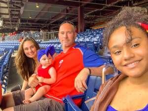 Cristina Hawkins attended Philadelphia Phillies vs. Miami Marlins - MLB on Jul 17th 2021 via VetTix