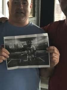 Mike Lockhart  attended Philadelphia Phillies vs. Miami Marlins - MLB on Jul 17th 2021 via VetTix
