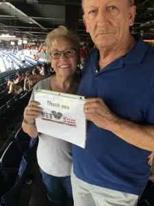 Ken Szperka attended Philadelphia Phillies vs. Miami Marlins - MLB on Jul 17th 2021 via VetTix