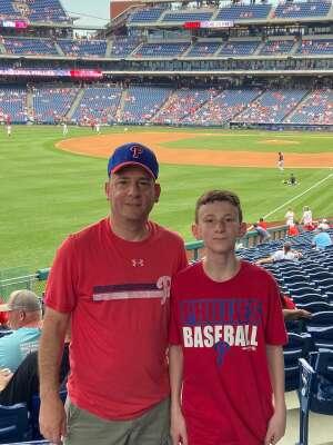 Marc attended Philadelphia Phillies vs. Miami Marlins - MLB on Jul 17th 2021 via VetTix