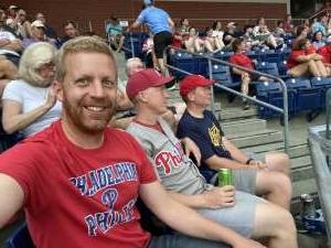 Stewart  attended Philadelphia Phillies vs. Miami Marlins - MLB on Jul 17th 2021 via VetTix
