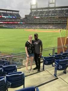 Sean attended Philadelphia Phillies vs. Miami Marlins - MLB on Jul 17th 2021 via VetTix