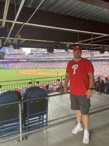 Don Clarke  attended Philadelphia Phillies vs. Miami Marlins - MLB on Jul 17th 2021 via VetTix