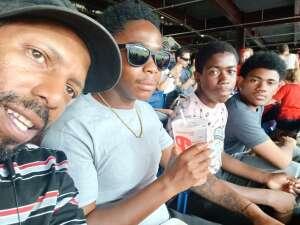 The Smith's attended Philadelphia Phillies vs. Miami Marlins - MLB on Jul 17th 2021 via VetTix