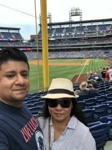 Jaime Alarcon  attended Philadelphia Phillies vs. Miami Marlins - MLB on Jul 17th 2021 via VetTix