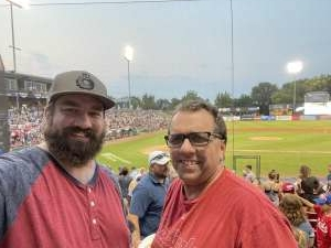 Randy attended Kane County Cougars vs. Fargo-Moorhead RedHawks - MLB Partner League on Jul 22nd 2021 via VetTix