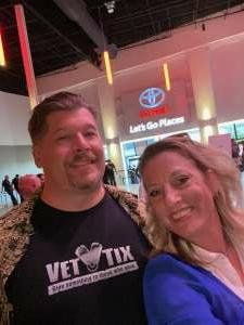Heidi and Steve attended Bill Maher on Jul 11th 2021 via VetTix
