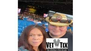 Joe and Maria Grant attended Brad Paisley Tour 2021 on Jul 30th 2021 via VetTix