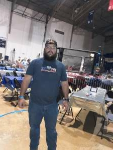 Bob attended Alabama Fighting Championships Presents: All American Bash - Military and 1st Responder Night!!! on Sep 11th 2021 via VetTix
