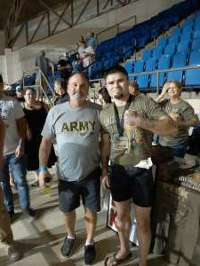 SGT Pete attended Alabama Fighting Championships Presents: All American Bash - Military and 1st Responder Night!!! on Sep 11th 2021 via VetTix