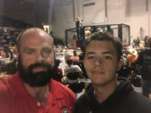 Michele Druffner attended Alabama Fighting Championships Presents: All American Bash - Military and 1st Responder Night!!! on Sep 11th 2021 via VetTix
