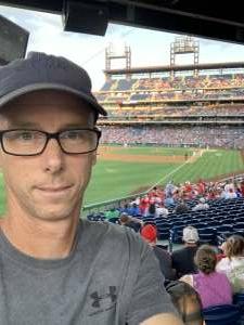 Ryan attended Philadelphia Phillies vs. Atlanta Braves - MLB on Jul 23rd 2021 via VetTix