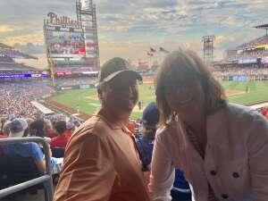 Ken attended Philadelphia Phillies vs. Atlanta Braves - MLB on Jul 23rd 2021 via VetTix