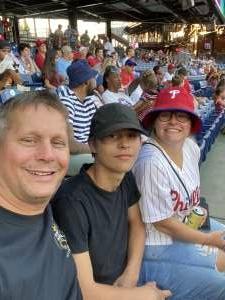 Nathan  attended Philadelphia Phillies vs. Atlanta Braves - MLB on Jul 23rd 2021 via VetTix
