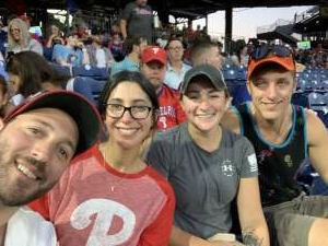 Sam attended Philadelphia Phillies vs. Atlanta Braves - MLB on Jul 23rd 2021 via VetTix