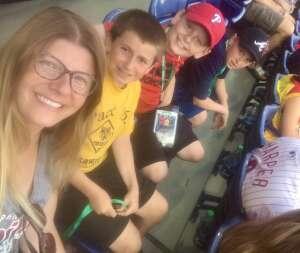 Carolyn attended Philadelphia Phillies vs. Atlanta Braves - MLB on Jul 23rd 2021 via VetTix
