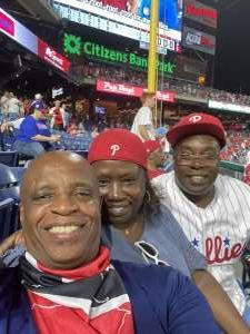 Keith attended Philadelphia Phillies vs. Atlanta Braves - MLB on Jul 23rd 2021 via VetTix