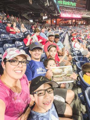 Will attended Philadelphia Phillies vs. Atlanta Braves - MLB on Jul 23rd 2021 via VetTix